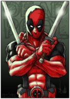 Deadpool- a PsychOz collab by ChrisOzFulton