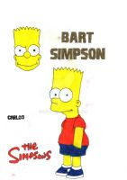 Bart Simpson by CAR-TACO