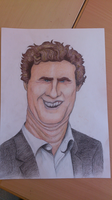Will Ferrel Caricature by Morionem