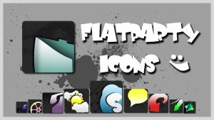 flatparty icons by BLA51
