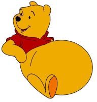 Winnie The Pooh gets fat by FootballLover