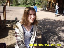Me at the zoo by ajbluesox