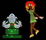 ServerQuest NPCs 1 - Elder Rojin and Lisa by RobotnikHolmes