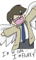 CAS IS SO CUTE HE IS FLUFFY by HellForeSoma-Yuki