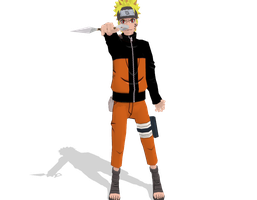 Uzumaki Naruto -DOWNLOAD- by vladanor