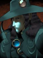 Vampire hunter D colors by danimation2001