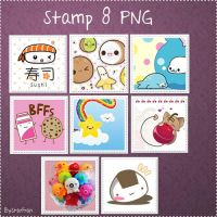 Stamp Kawaii by StarFran