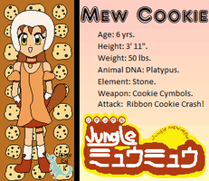 Mew Cookie by Lunarcentric