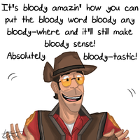 TF2 - Absolutely Bloody-tastic! by Beginneratart