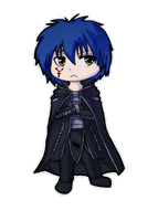 Fairy Tail - Jellal Chibi by ShadowDragon22