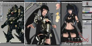 ANH2k10 WIP and Preview by ArtNotHearts