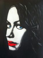 LaLa Anthony painting by bengray94