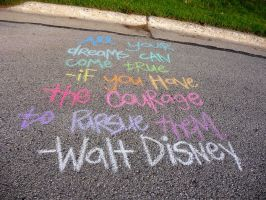 Walt Disney in Rainbow by Melyssah6