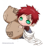 Gaara by ChicharitoCyrus
