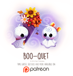 Day 1428. Boo-quet by Cryptid-Creations