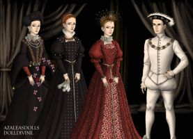The Children of Henri II of France by MoonMaiden37