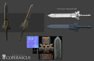 Copernicus Weapon 00 by Arkadius