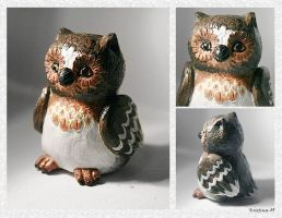 Little Owl by Kridah