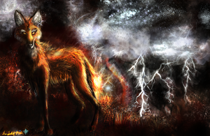 Stormbringer- Maned Wolf by Kinky-Slingy