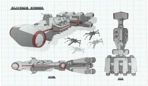 Blockade Runner Schematic by Obhan