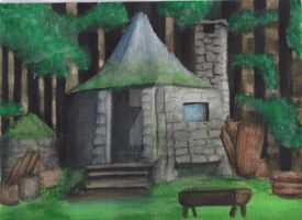 Hagrid's Hut by Art-Vandalay7