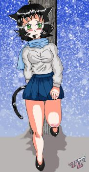 Lola in winter by jhonedwardelric