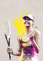 Maria Sharapova by neo-innov