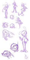 Sketches - 06/23/14 by Atrox-C