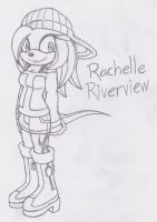 :New FC: Rachelle Riverview by RyomaTheHedgehog