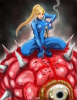 Samus by JirayaDC