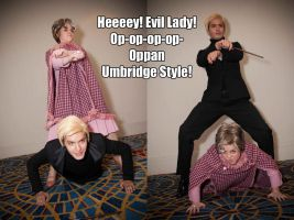Oppan Umbridge Style by Red-Ribbon-Cosplay