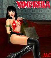 Vampirella by The-Mind-Controller