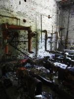 Henryton Boiler House Pipes by Scipio164