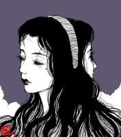 Junji Itou inspired. Two faced ladie want my coc-- by Jawsmin