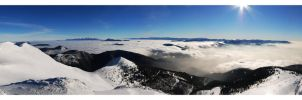 Winter panorama by joffo1