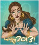 Bollywood New Year by mackdanife