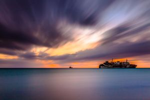 Passing Sky II by mhmalali