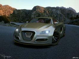 Audi OniX Concept v2-5 by cipriany