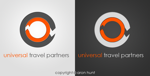 universal travel partners Logo by AreoX