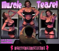 Muscle Tease Sample 1 by SteeleBlazer84