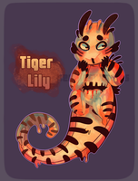 Tiger Lily Goobie [OPEN] by PW-adoptables