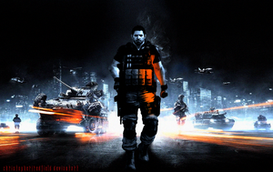 Chris Redfield - Battlefield Poster by ChristopherJRedfield