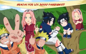 mas de 3000 pageviews :D by Kakashi-Tsunade