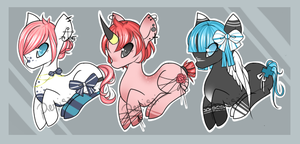 [ Ponies Auction!~ ] [ CLOSED ] by otowei