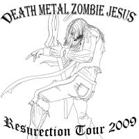 RC - Death metal zombie jesus by northdrow
