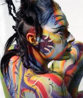 Body Art - 1 by Anne-Marie-Noble-Art