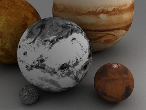Planets by Amargein