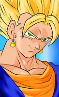 SSJ Vegetto by wLadyB91