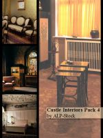 Castle Interiors Pack 4 by ALP-Stock