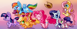 Follow Me, Everypony! by Zoiby